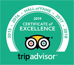 Big Wheel Tours - Tripadvisor Badge of Excellence