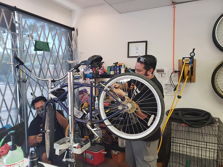 Palm Springs Bike Tune Up and Safety Checks